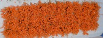 30 x Self Adhesive Flower Tufts - Orange